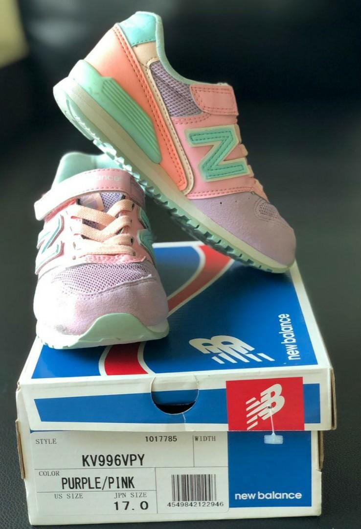 Sepatu anak New Balance ori size 17