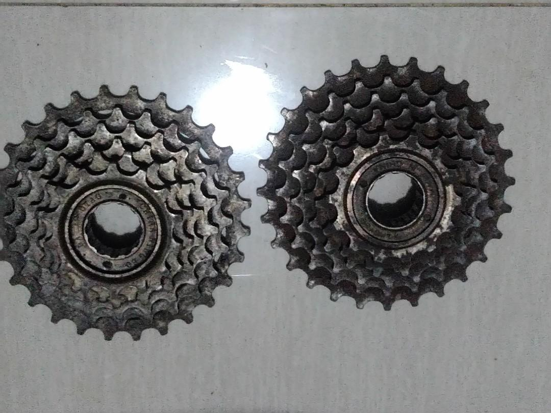 Sproket Freewheel gir 6 Speed