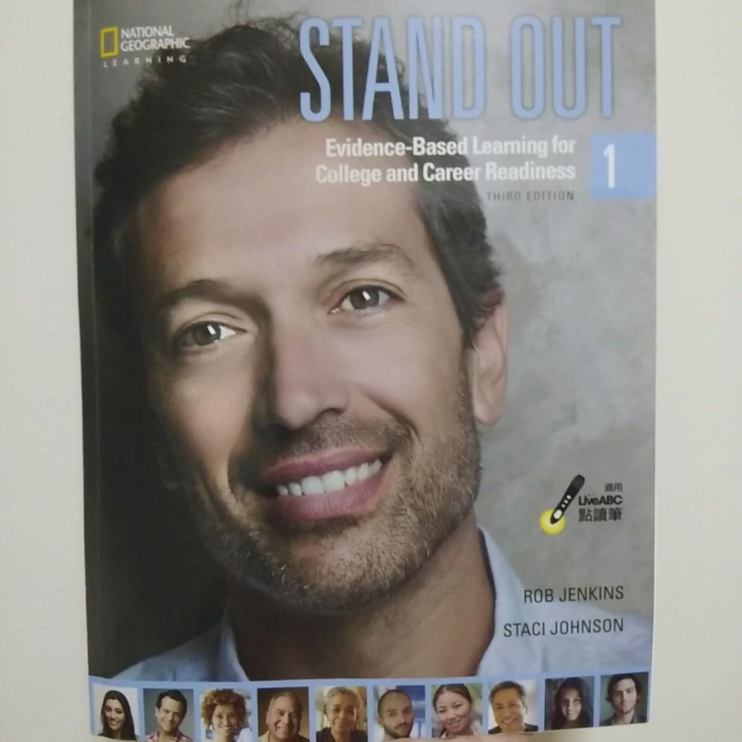 STAND OUT1 THIRD EDITION NATIONAL GEOGRAPHIC 英文書#開學季