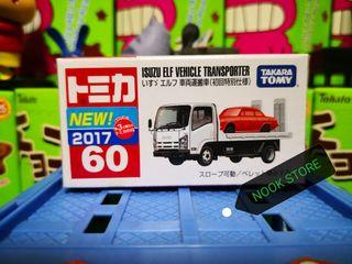 日版Tomica 60 ISUZU VEHICLE TRANSPORT 車輛運搬車 初回