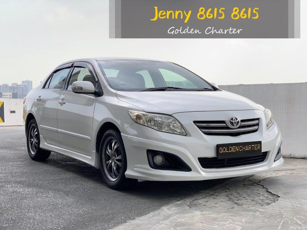Toyota Altis 1.6a for rent PHV ready gofleet grab personal use delivery