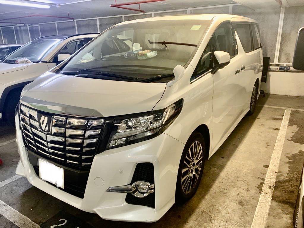 Toyota Alphard 2.5 SC Auto