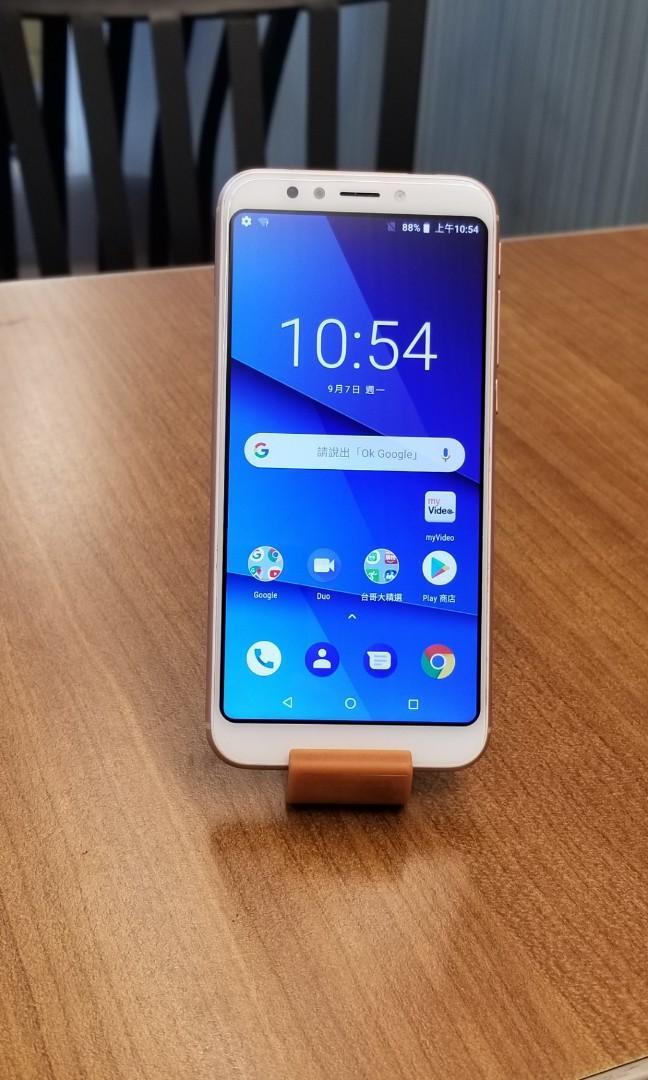 二手TWM 台灣大哥大 Amazing A55 5.5吋 16G4G + 4G 雙卡雙待