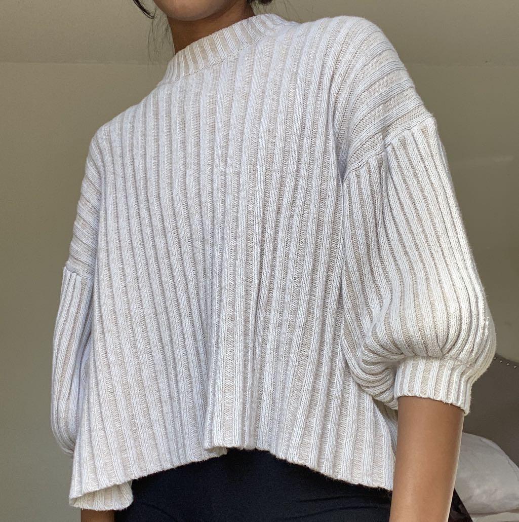 UO Lou mockneck pullover