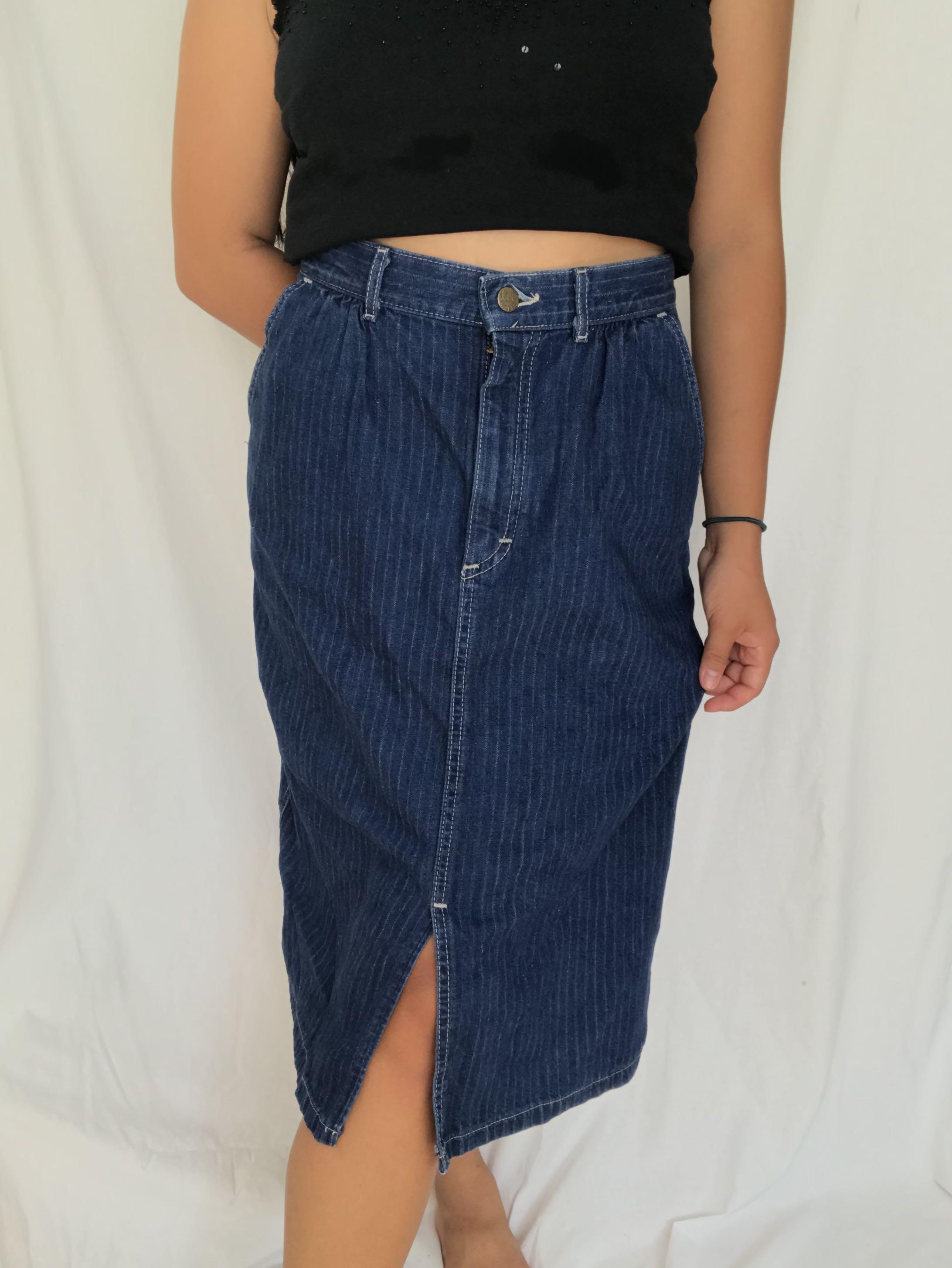 Vintage Lee Midi Skirt