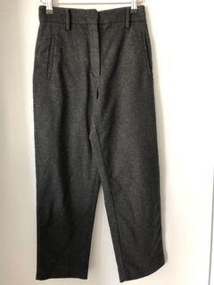 Aritzia Wilfred Charcoal Wool pant