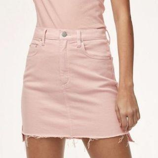 Aritzia Wilfred Free Pink Skirt