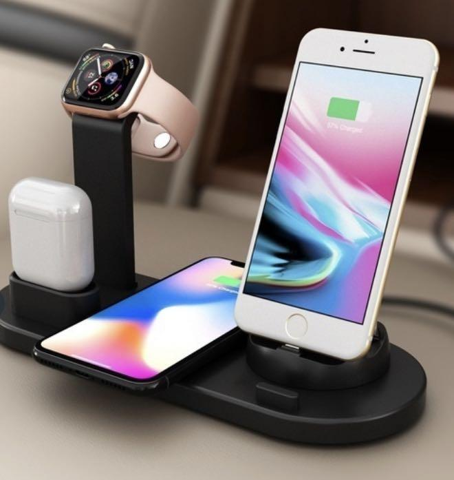 Wireless Charging Stand for iPhone, Apple Watch and Air pods
