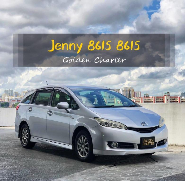 08/09 Call 8615 8615 Jenny For SEPTEMBER WEEKLY PROMOTION ! UNITS GOING FAST ! Toyota Wish Available ! Min. 1 month ! While Stocks Last! Readily Available for Personal Usage, PHV, Go-Jek Rebate, Grab ! Rent Car ! Car Rental ! Cheap Rental Car !