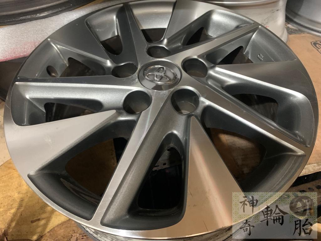 16吋鋁圈 正原廠 Toyota Alphard 拆車鋁圈 5/114 6.5J ET33 正常使用痕跡 原廠漆便宜售
