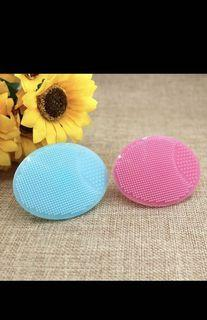 4 - Four New- Popular Skin Care Cleaner comfortable touching Silicone Facial Cleansing Massage Brush