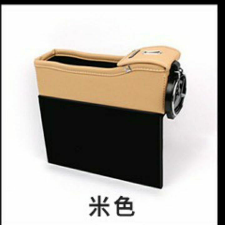 高質感汽車用縫隙置物盒 杯架  2個