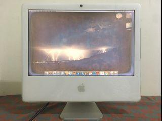 「私人好貨」🔥稀有 Apple iMac G5 A1145 便宜出售 無盒/無配件 二手 自售 桌上電腦 零件 故障