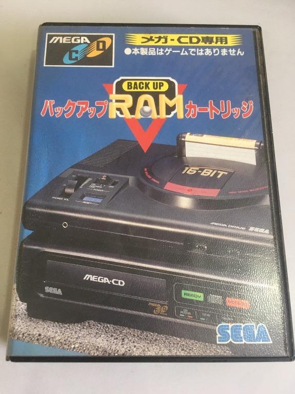 「環大回收」♻二手 SEGA-MD 早期 絕版 1992年【BACK UP RAM】正版 記憶卡 卡帶 卡匣 請先詢問