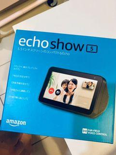 Amazon Echo Show 5 智慧螢幕喇叭 現貨 語音助理Alexa