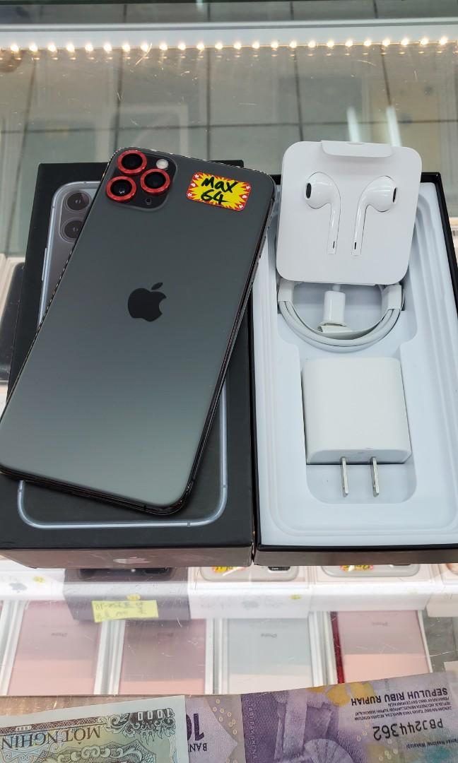 apple 11 pro max 64GB 黑 台灣公司貨
