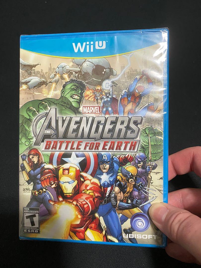 Avengers Battle for Earth Nintendo Wii U