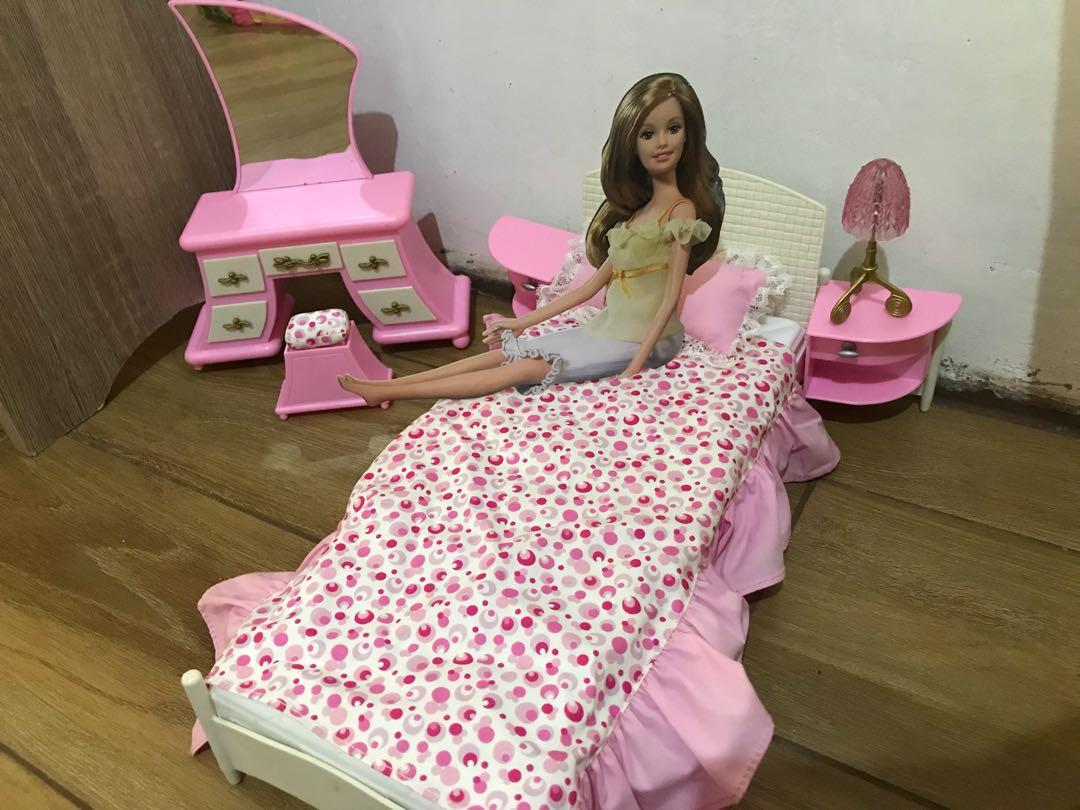 Barbie Bedroom Set Toys Games Toys On Carousell