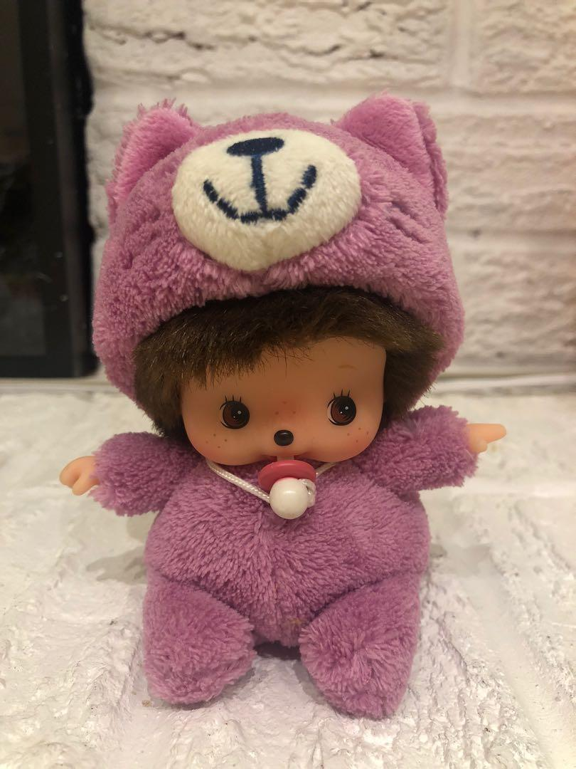 Bebichhichi Purple Cat Costume Doll