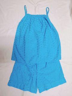 Blue Sleepwear Set