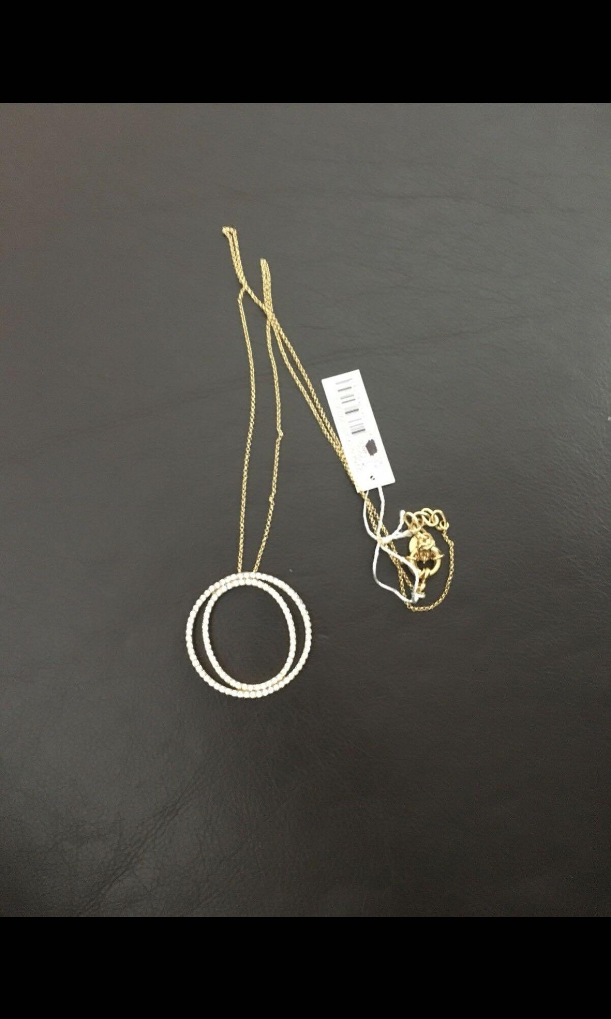 BMWT Oroton 10k gold plated necklace