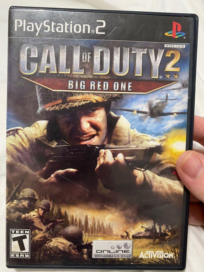Call Of Duty The Big Red One PS2