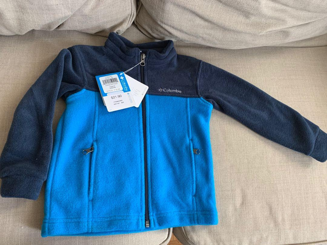 Columbia fleece jacket 4T