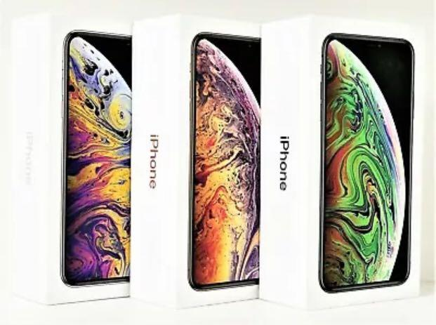 Description: New Apple iPhone XS MAX 64/256/GB