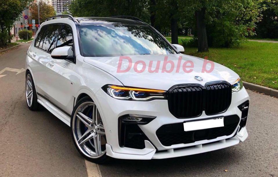 Double b 寶馬 BMW G07 X7 M-tech 素材 前下巴 前下擾流 台灣製造完美品質 密合度超優