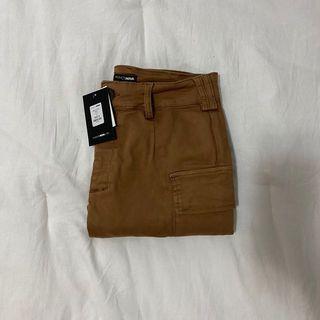 fashion nova tan kalley cargo pants