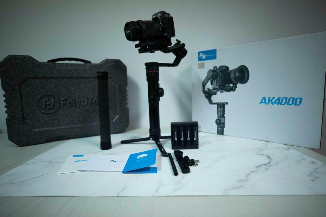 Feiyu飛宇 AK4000 單眼相機三軸穩定器 原裝套裝
