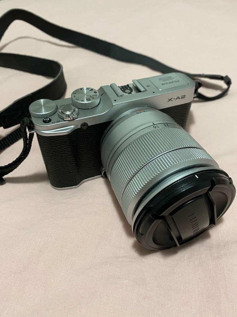 FUJIFILM X-A2 WITH LENS KIT AND FREE CASE