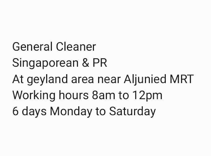 General Cleaner