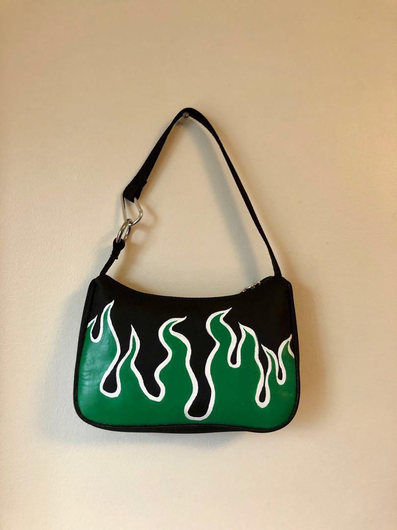 Green Flame Mini Bag
