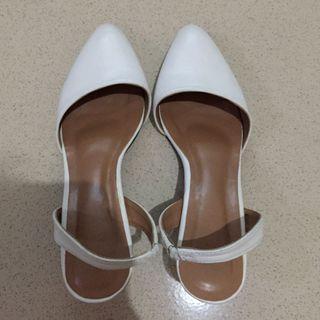 Heels white pixfootwear
