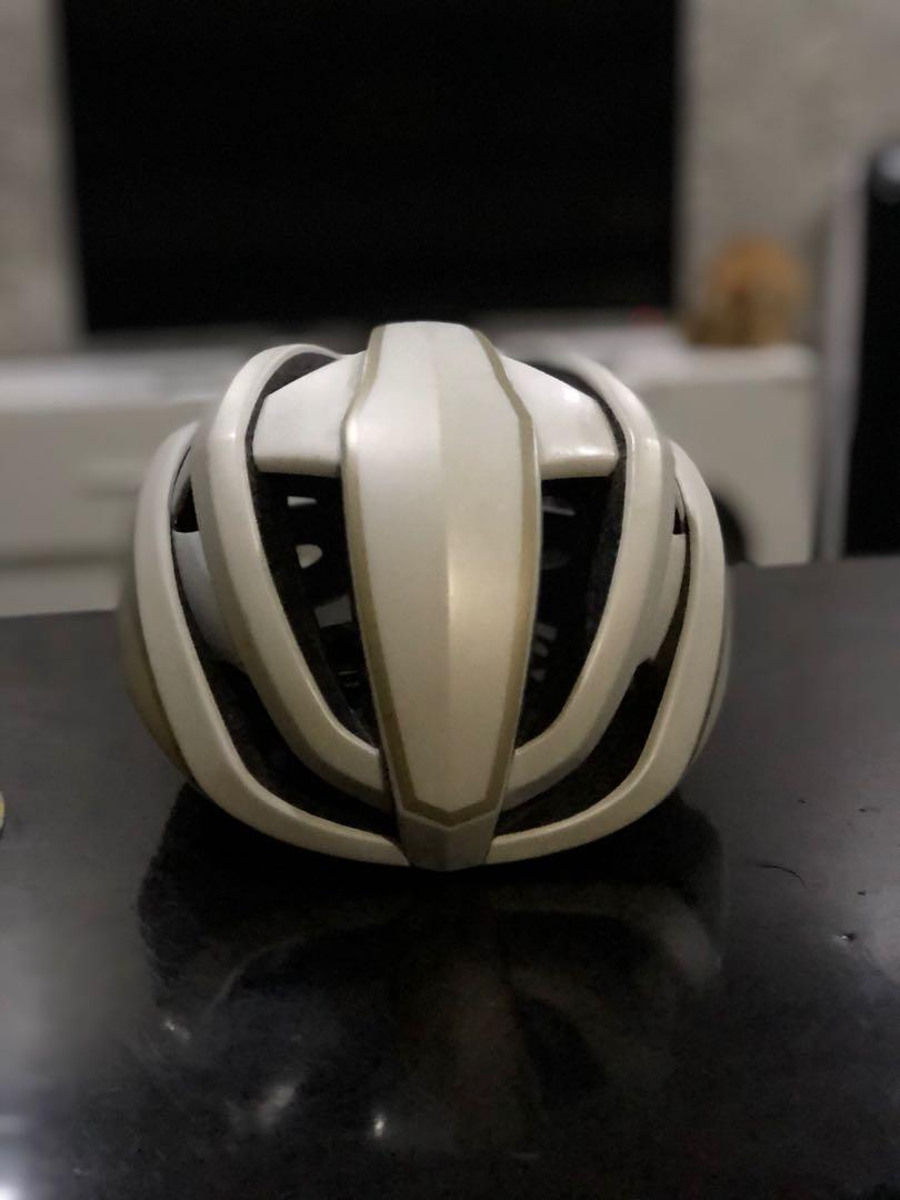 Helm Road bike HJC ibex matte white gold M-L
