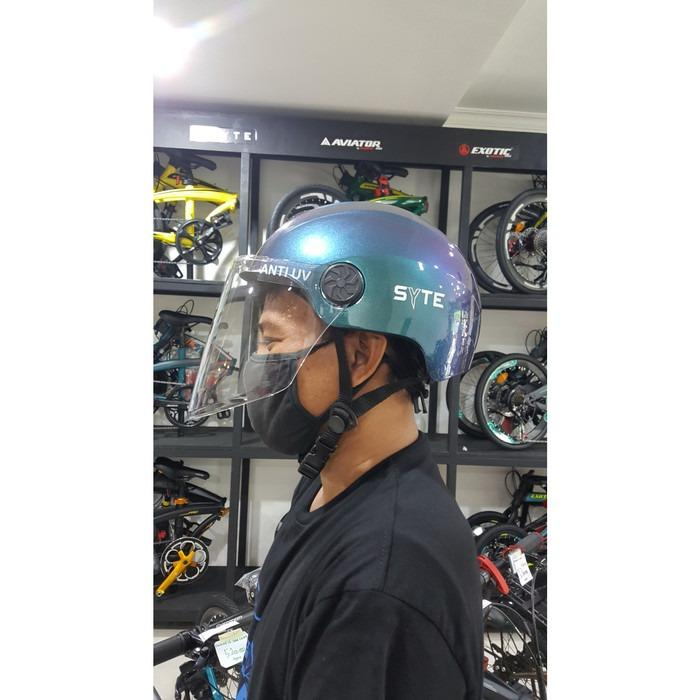HELM SEPEDA PACIFIC SYTE ST F 171 HALF FACE LS