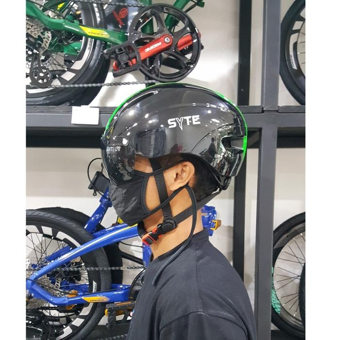 HELM SEPEDA PACIFIC SYTE ST F 170 HALF FACE LS