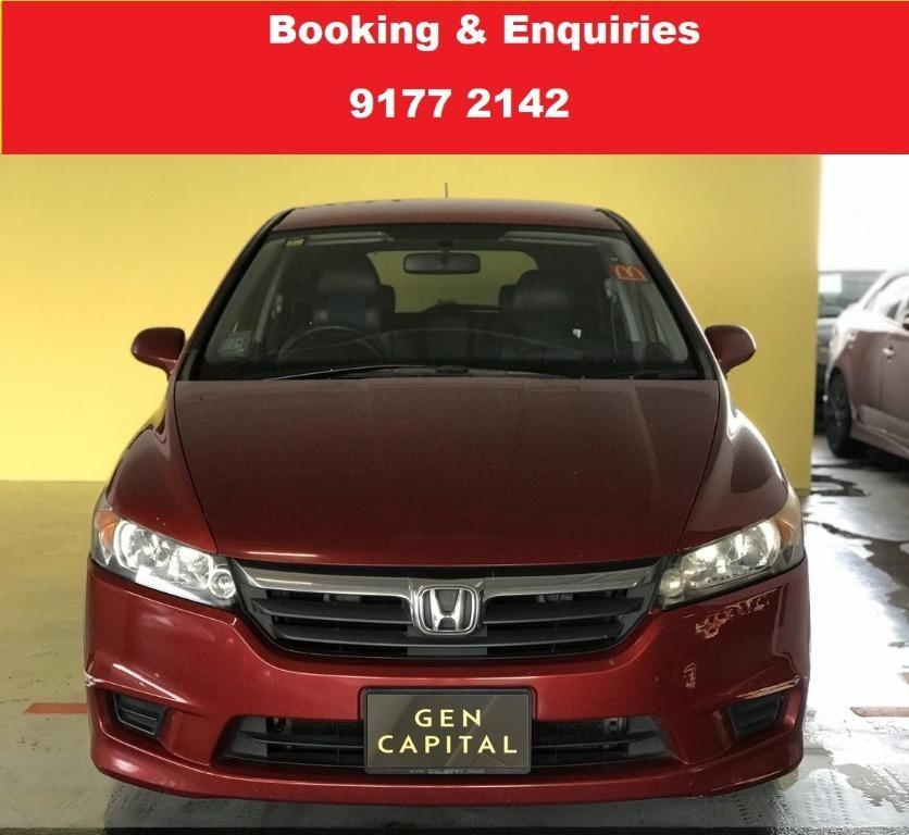 Honda Stream. $500 deposit only. Whatsapp 9177 2142 to reserve.Cheap Car Rental. Cheap Car. Budget car.