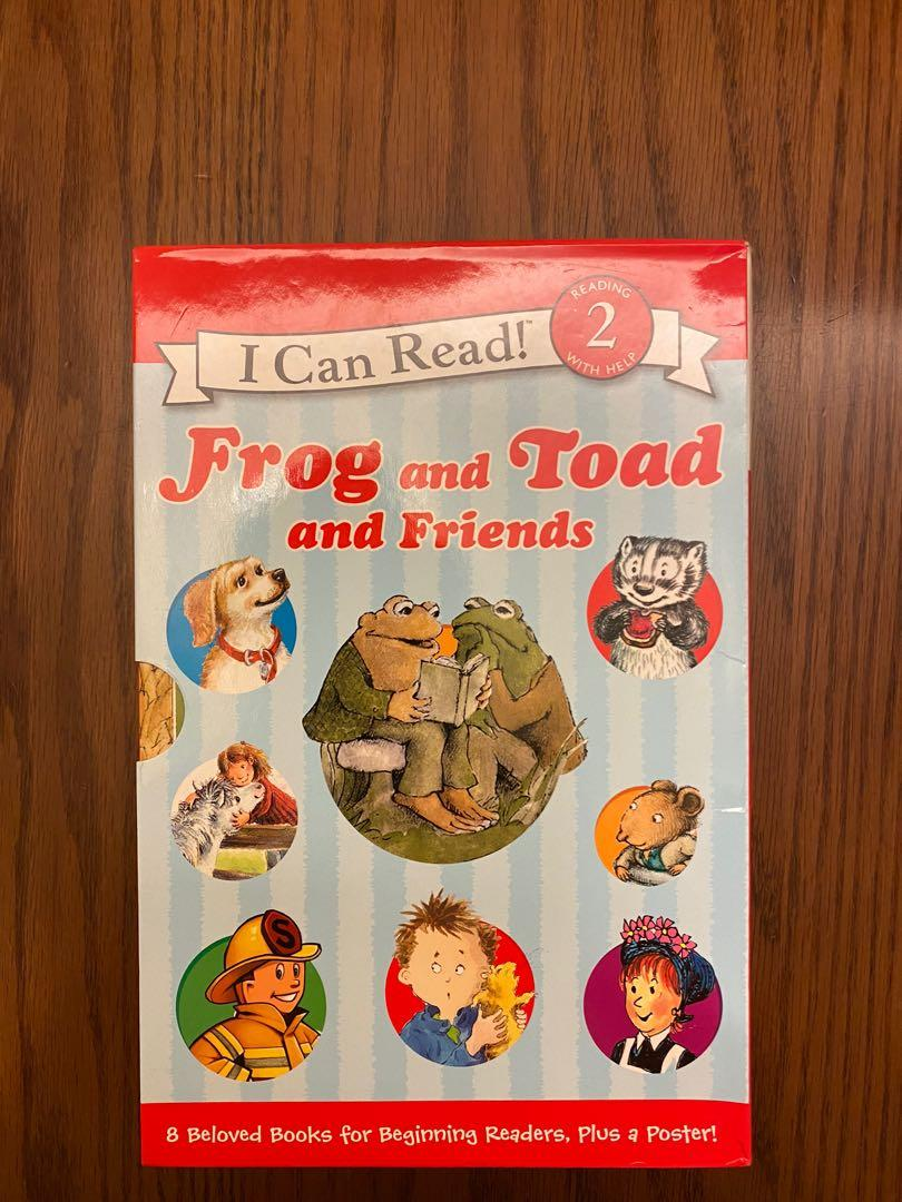 I can read 2 Frog & Toad & Friends