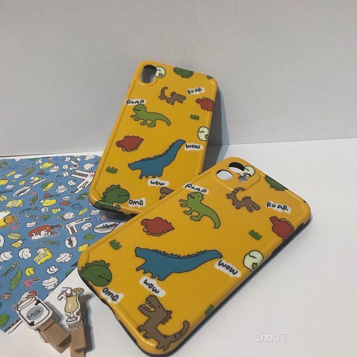 玩具恐龍Iphone手機殼