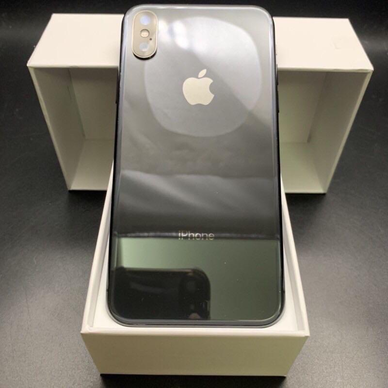 iPhone X 256g space gray battery 100% with brand new Foxconn charger #4575