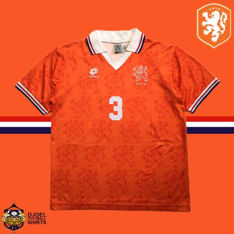 Jersey Original Holland 1994 World Cup Home #3 RIJKAARD PLAYER ISSUE (L)