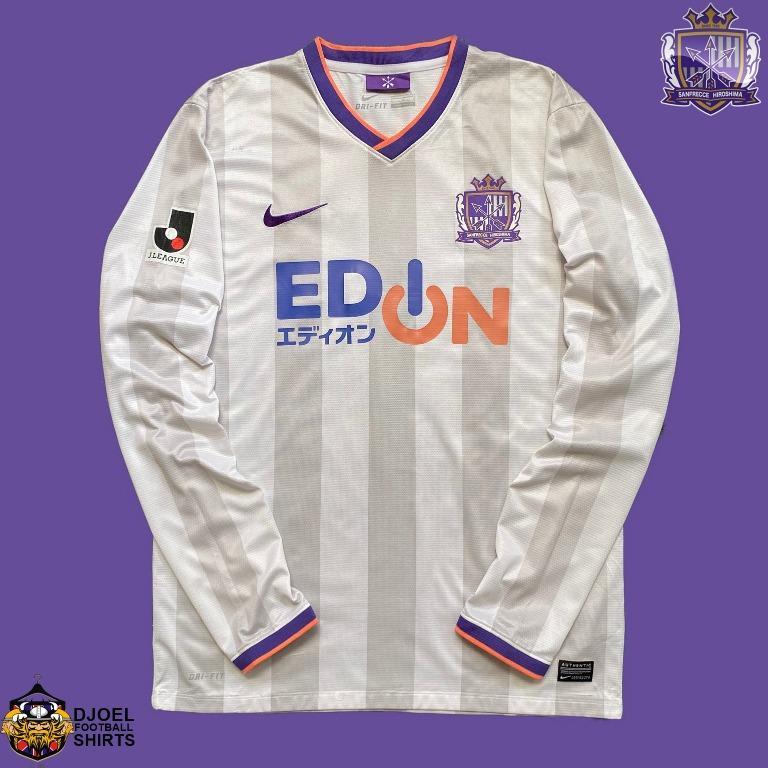 Jersey Original Sanfrecce Hiroshima 2014-15 Away L/S J-League (L)