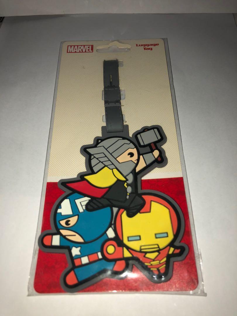 Luggage Tag Marvel