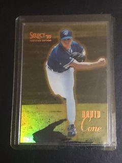 MLB大聯盟名將投手David Cone1995限量卡(非Jordan)