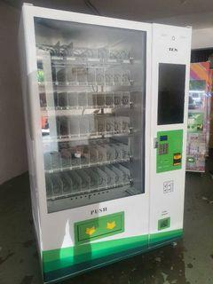 """New vending machine snack combo 60 slot with display tv screen 22"""""""