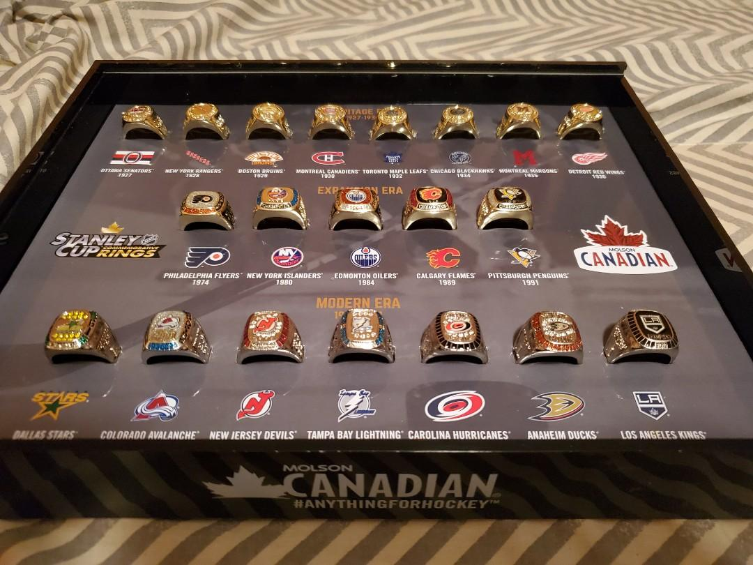 Molson Stanley Cup Ring Set