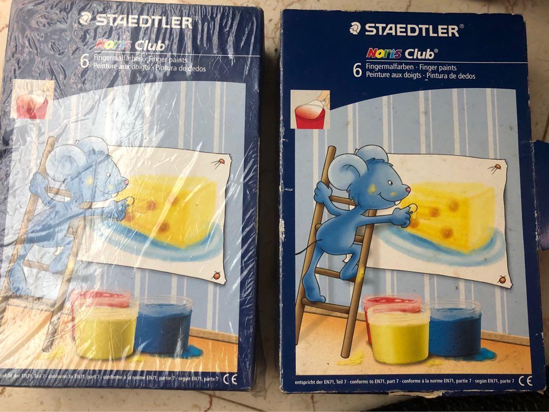 德國施德樓MS8716手指畫6入組一盒顏料 網路最便宜521 這兒285