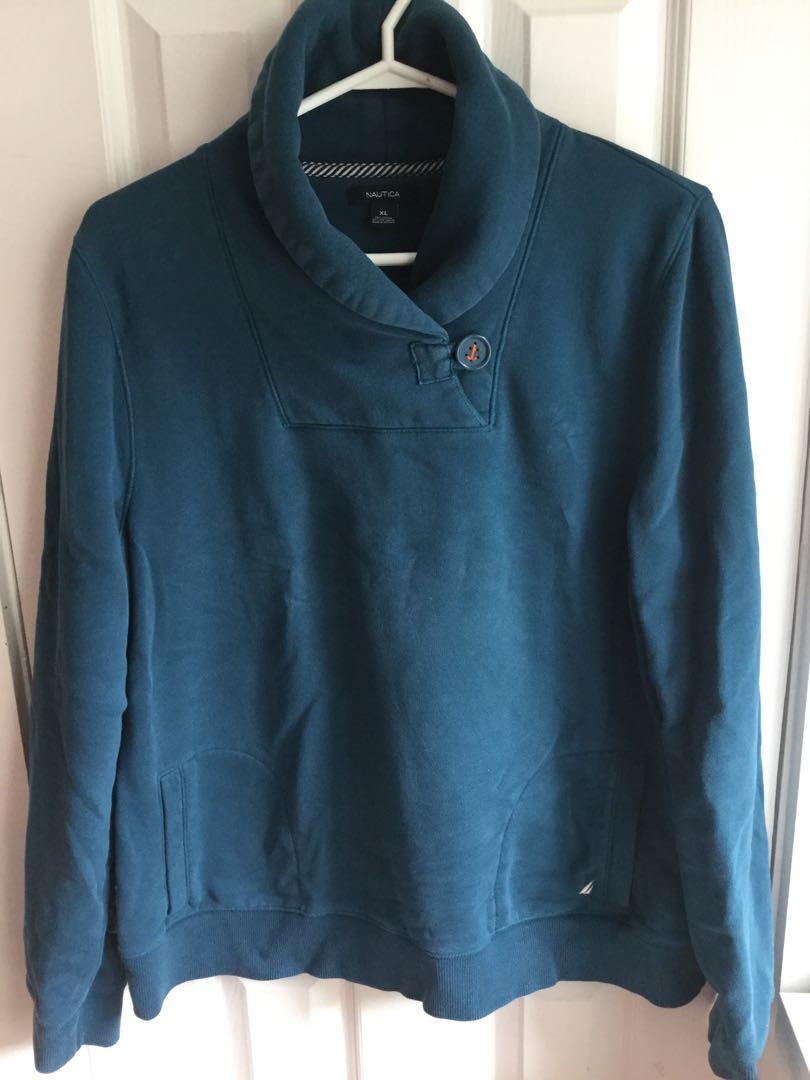 Nautical sweatshirt size xl-$10